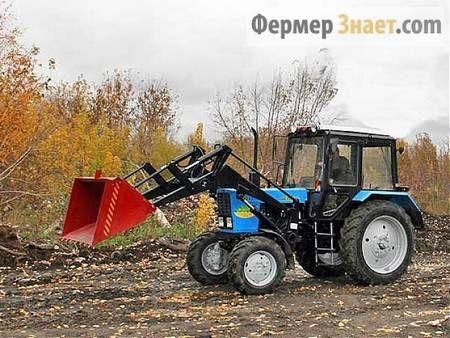 Різновиди навісного обладнання для мтз-82