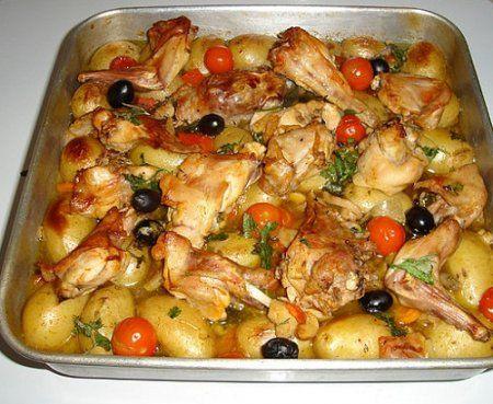 Рецепт приготування кролика з картоплею