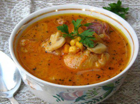 качиний, суп
