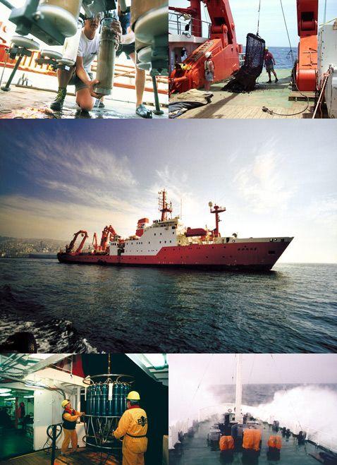 Протягом трьох тижнів вересня 2010 група вчених орендувала німецьке дослідне судно
