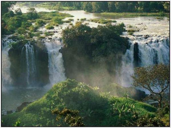 Водоспади Блакитного Нілу, Ефіопія