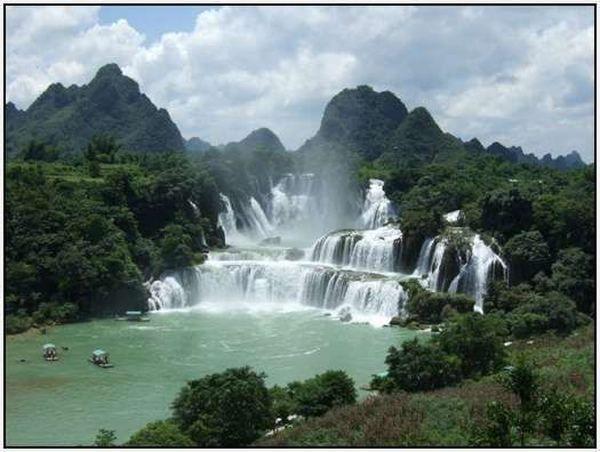 Водоспад Детьян, В`єтнам