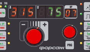 Зображення панелі інвертора з ARC FORCE, grpz.ru