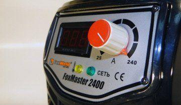 Фото інвертора з системою HOT START ANTI STICK, foxweld.ru