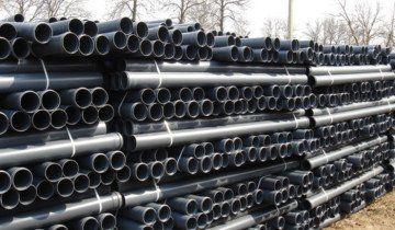 На фото труби з ПХВ для каналізації, .rs-chim.ru