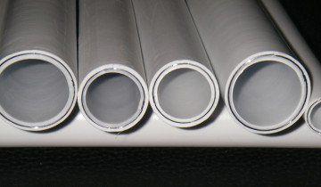 На фото металлополімерниє труби, topstroytorg.ru