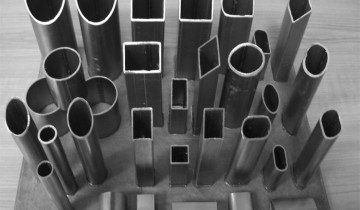 Зразки металополімерних труб різного перетину, fis.ru