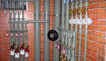 Підключення лічильників за допомогою поліетиленових труб, altstroy31.ru