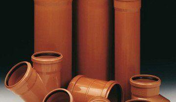 Зображення труб з ПВХ різних розмірів, bau.com.ua