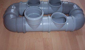 Фото труб ПВХ для внутрішньої каналізації, krainamaystriv.com