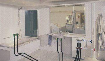 Проект прокладки труб у ванній, proektvsem.ru