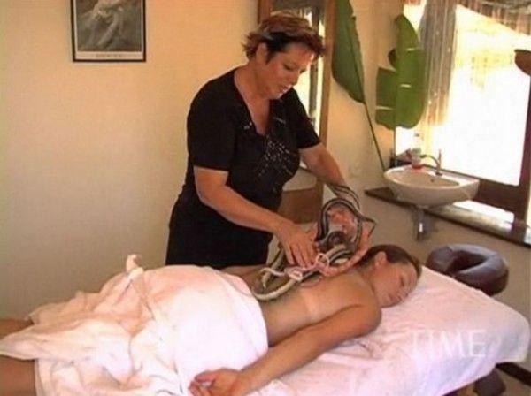 Зміїний масаж кращий засіб для зняття стресу