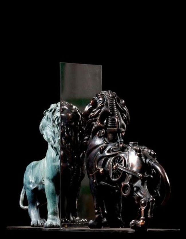 Стімпанк скульптури П`єра Матера (Pierre Matter)