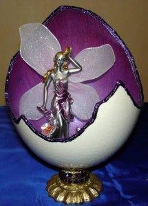 Виріб з шкаралупи страусиного яйця фото