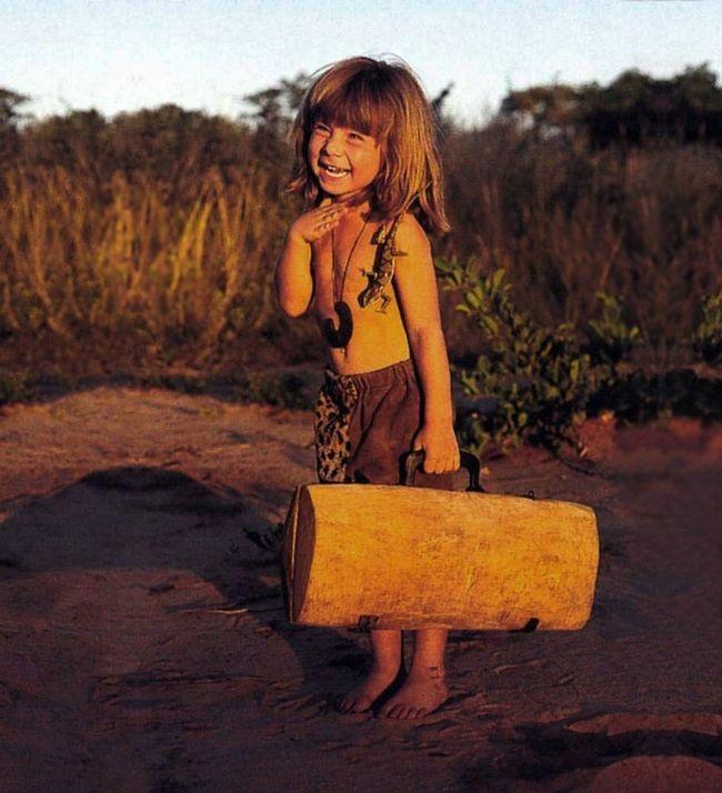 Типпи Дегре - дитя дикої природи