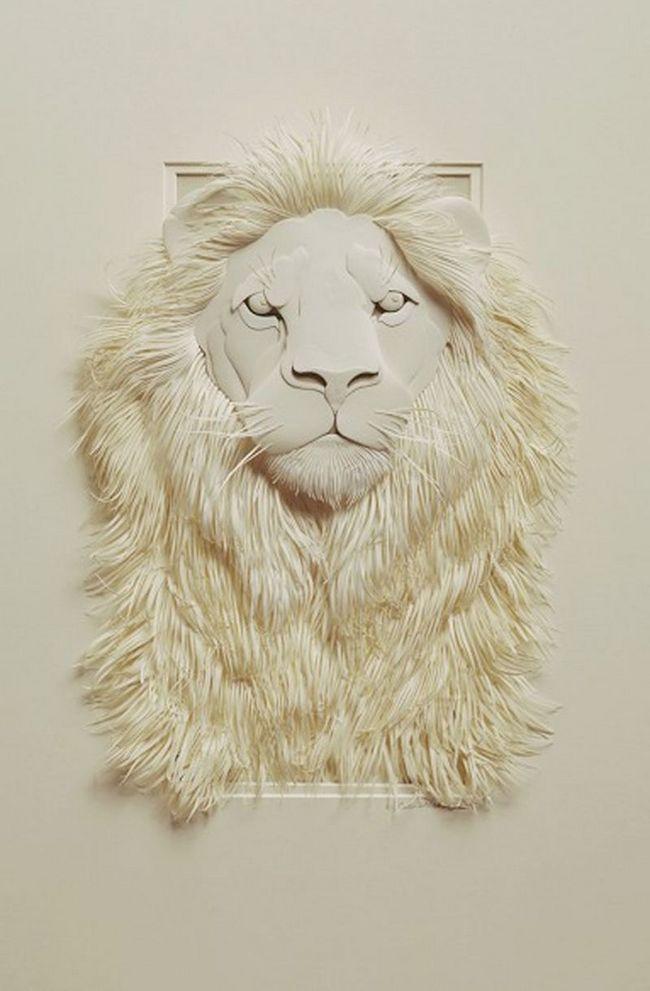 Дивовижні скульптури з паперу від Calvin Nicholls