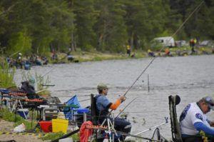 Озеро для щорічного риболовецького турніру