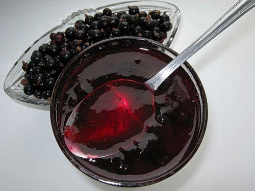 Рецепт желе з чорної смородини