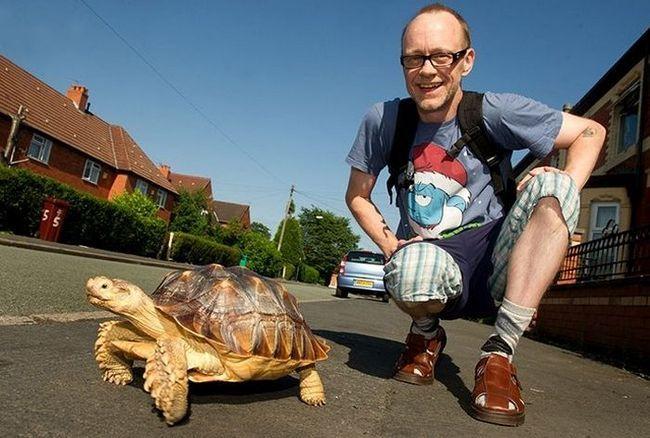 Роб сподівається гуляти зі своїм другом щодня до кінця своїх днів