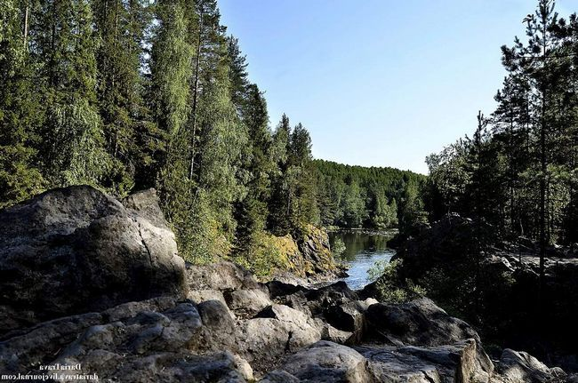 Річки та озера заповідника - найцінніше багатство Карелії.
