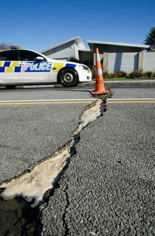 Землетрус в Новій Зеландії